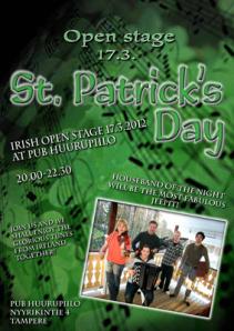 St. Patrick's Day - Irish Open Stage