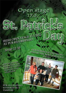 St. Patrick's Day - Irish Open Stage