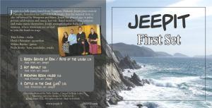 First Set CD:n kansi