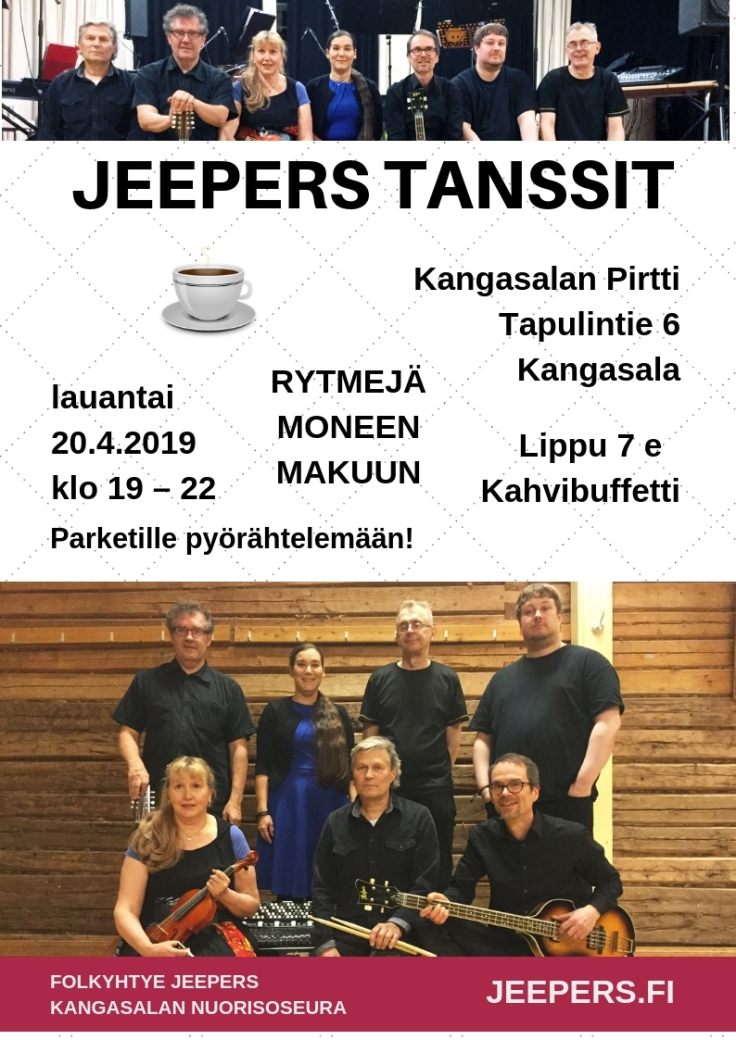 JEEPERS lankalauantain tanssit