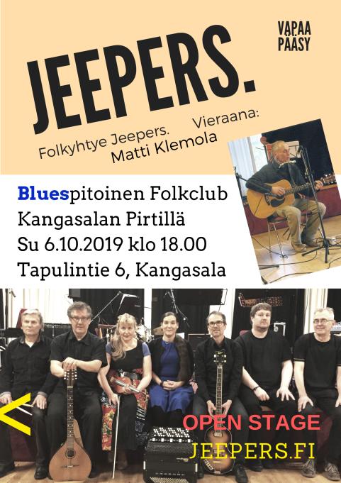 Jeepers ja Klemola 2019